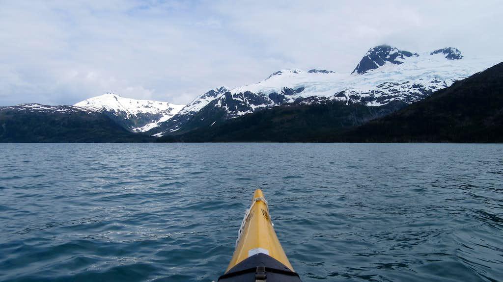 Kayaking Blackstone Bay