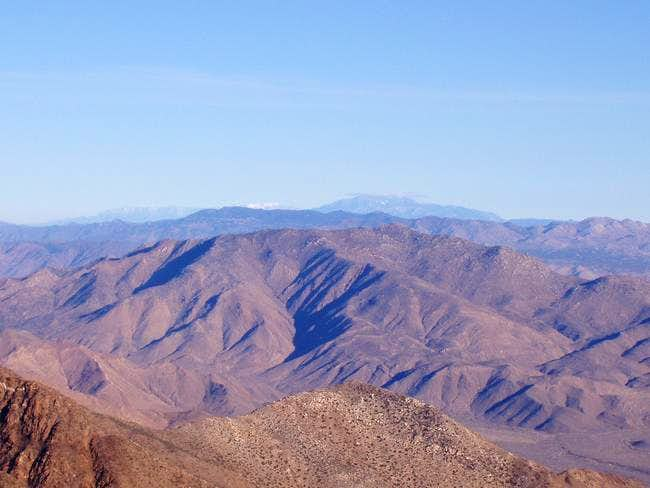 Granite Mountain as seen from...