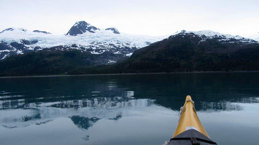 Calm waters in Blackstone Bay