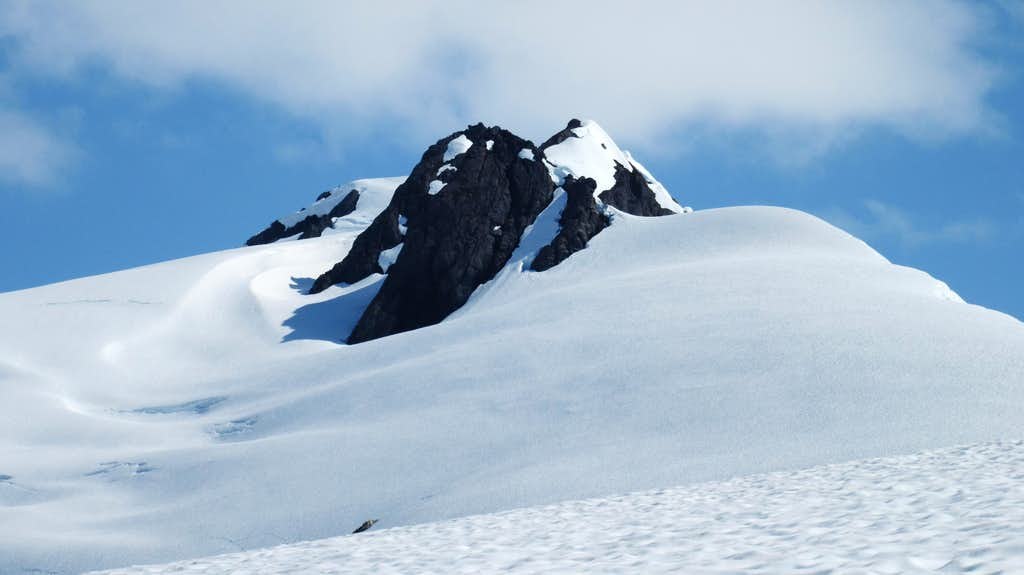 Looking up towards jatt Peak