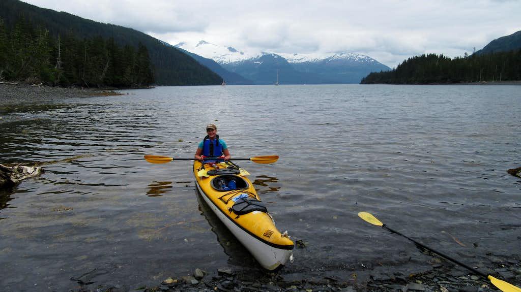 Getting ready to kayak away