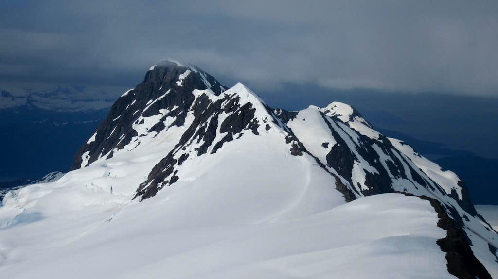 Looking towards Peak 3,580 from Jatt Peak