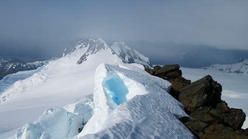 The summit ridge of Jatt Peak