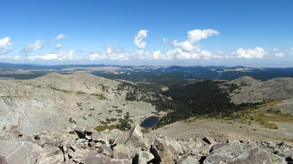 View east from Loaf Mountain