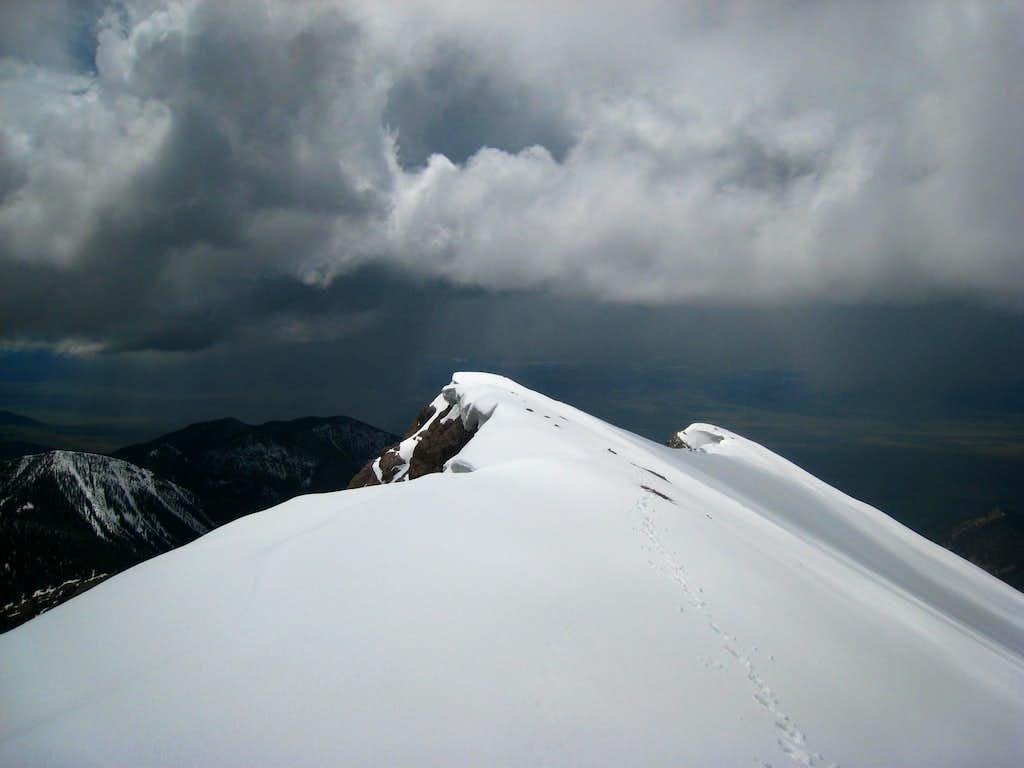 Summit of Sphinx Mountain