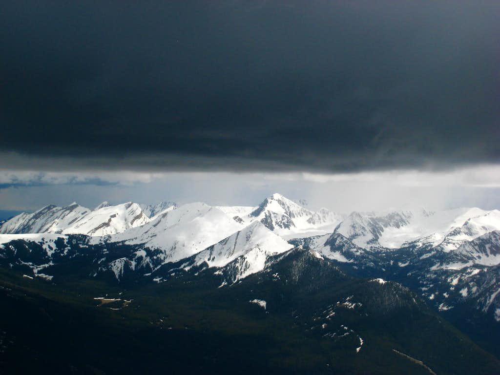 Koch Peak from Sphinx Mountain