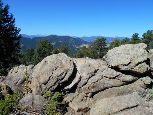 Summit of Mount Falcon.