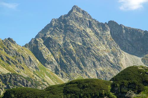 Mount Cubryna - High Tatras