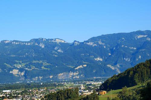 From Schwarzenberg to Hohe Kugel