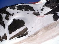 Bowl at the base of Larrabee