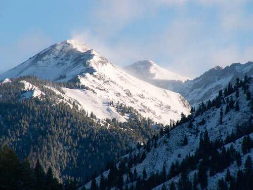 Ryan Peak from the Wood River...