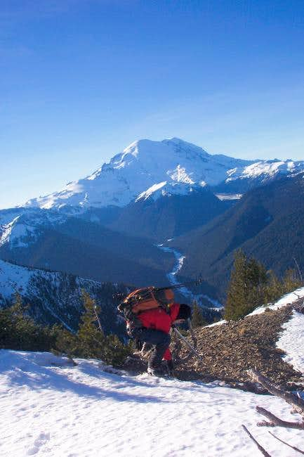 Mt Rainier from nearby...