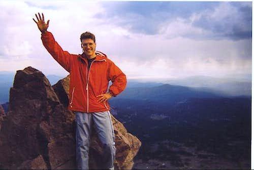 Lassen summit photo (no, I...