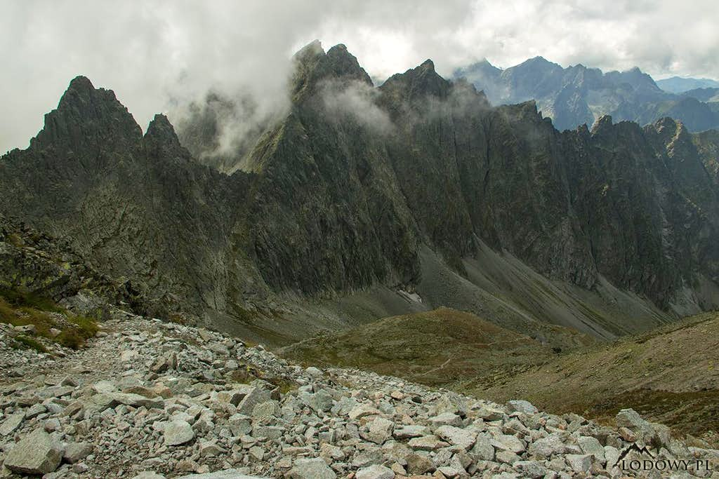 Mt.Javorovy Stit ridge
