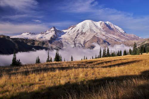 Mt. Rainier above the clouds