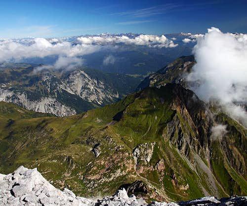 Monte Coglians / Hohe Warte panorama