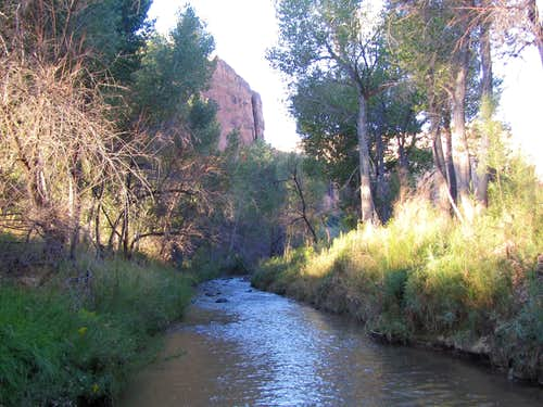 One of the countless times that I crossed Escalante River