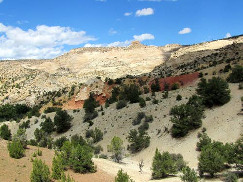 Near town of Escalante Trailhead