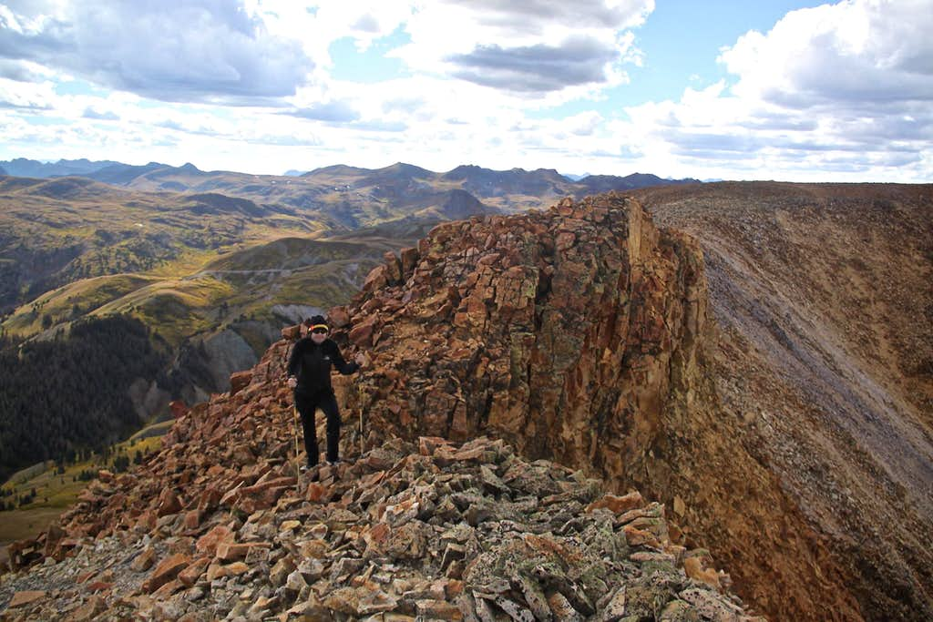 West ridge of Sheep Mountain