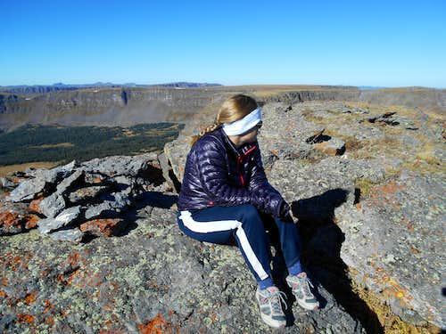 Orno Peak Summit