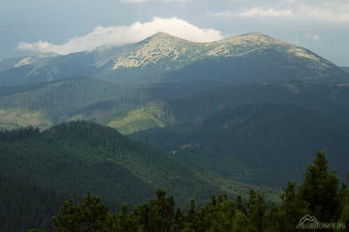 Mount Syvula - Gorgany mtns.