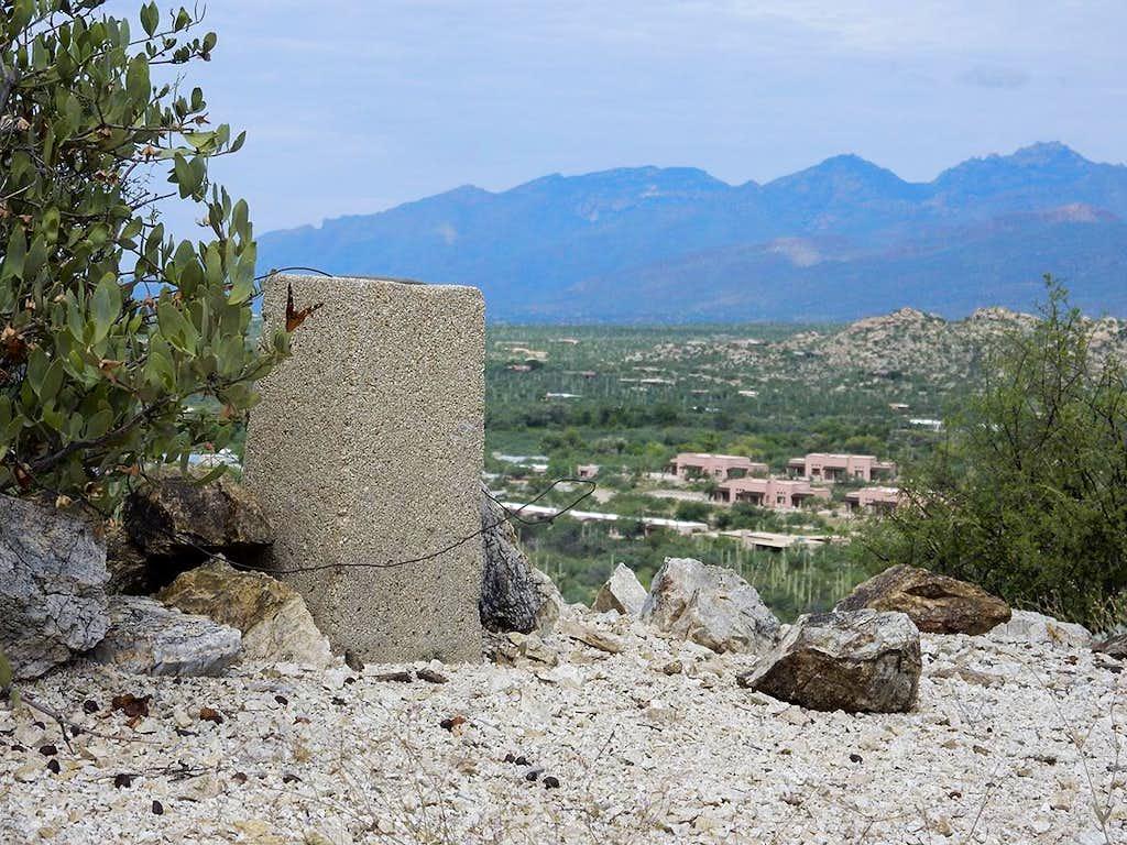 Scotts Knob survey marker