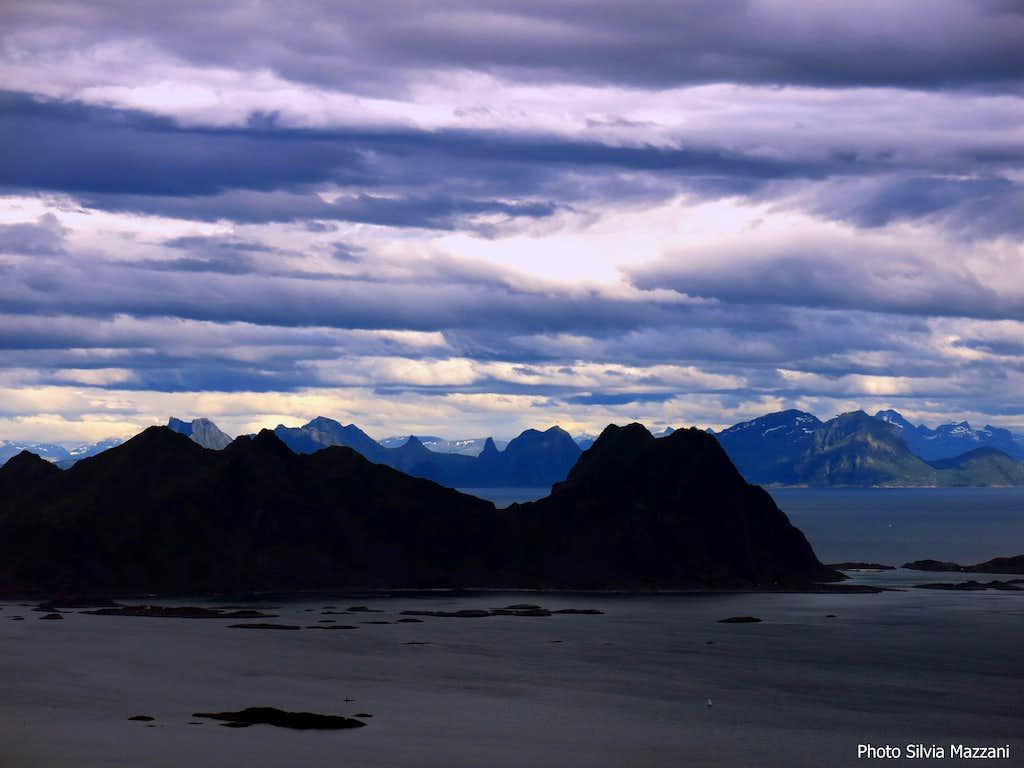 Mainland seen from Kongstinden