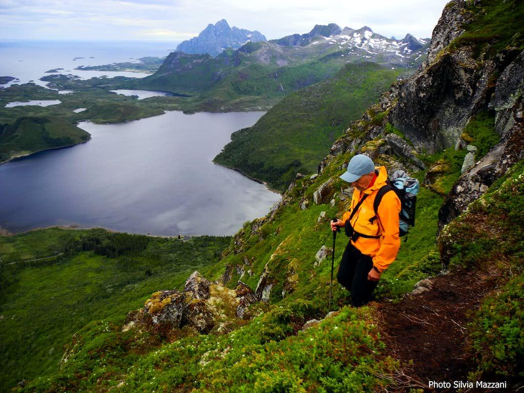 A scenic ridge - Kongstinden