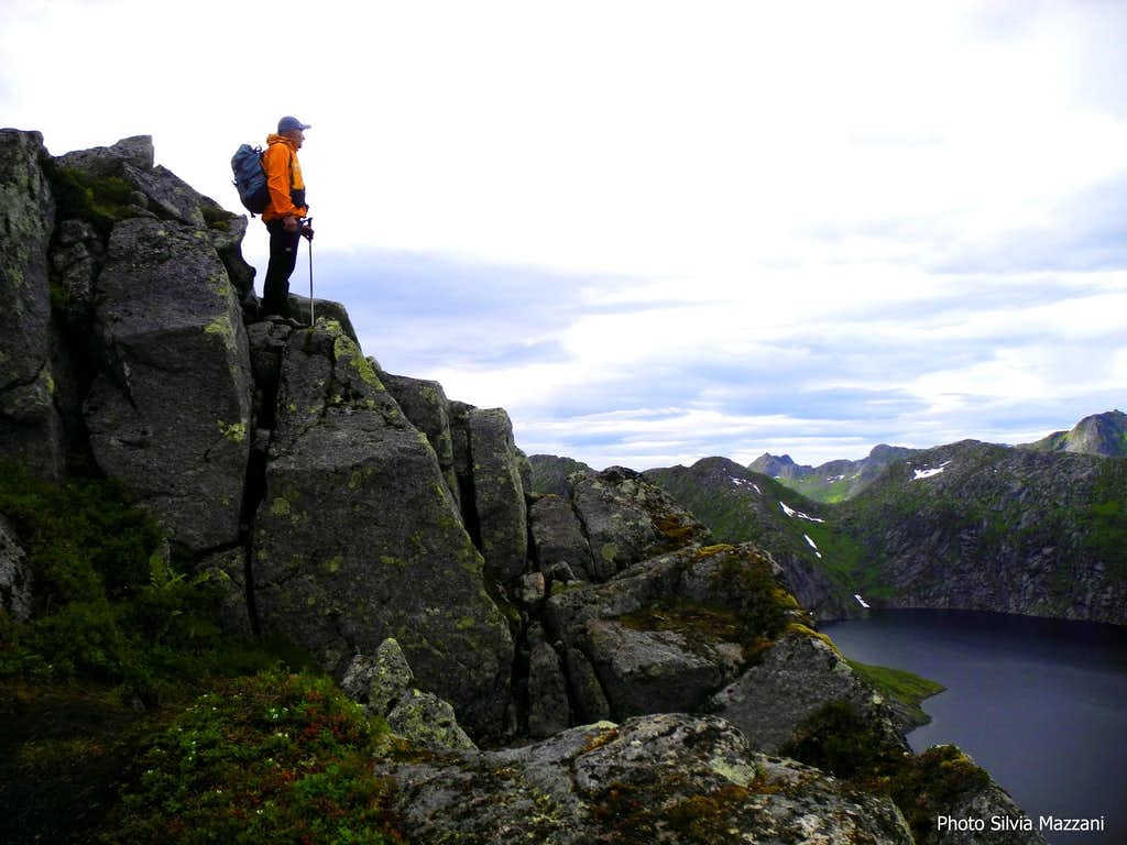 Kongstinden,  near the summit