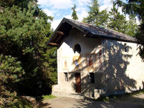 Tour de Saint'Evence Saint Pantaleon Chapel 2015
