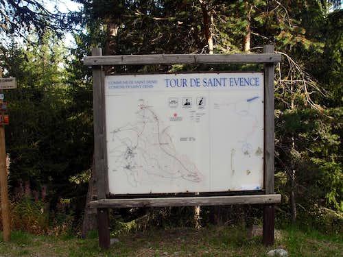 Tour Saint'Evence Near St. Pantaleon Hill (1650m) 2015