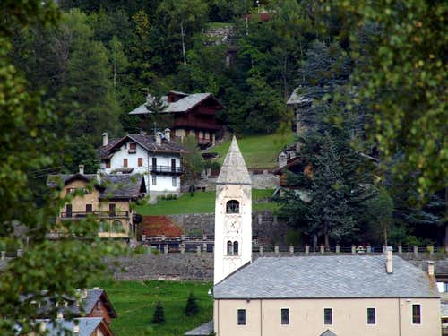 (Valdigne) / D-1 Courmayeur St. Pantaleon Church 2015