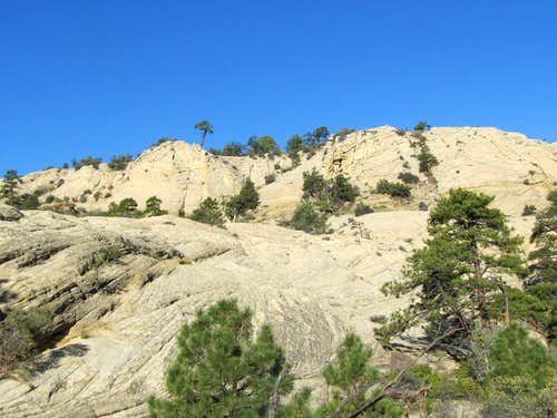 Ascending out of Sand Creek Canyon