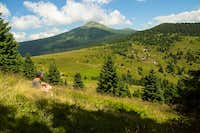 Towards Mount Hoverla