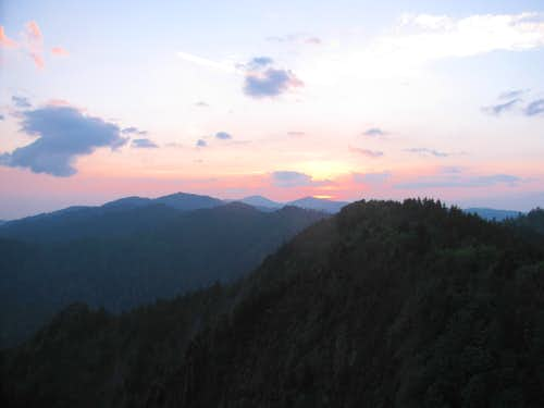 From Charlies Bunion, at Sunrise