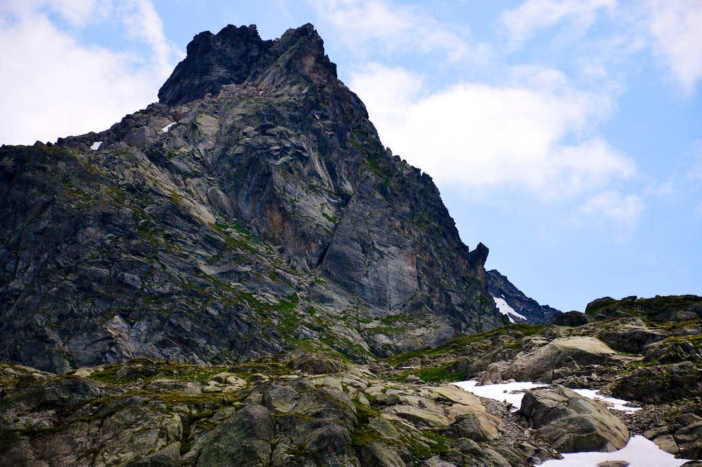 Punta del Tachuy or Arête du Tachuy