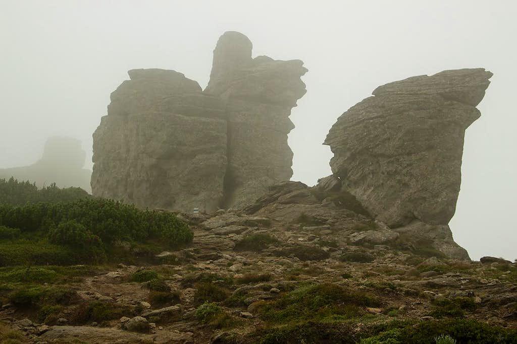 Mt.Vuhatyj Kamin