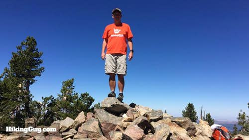 Hiking San Bernardino Peak