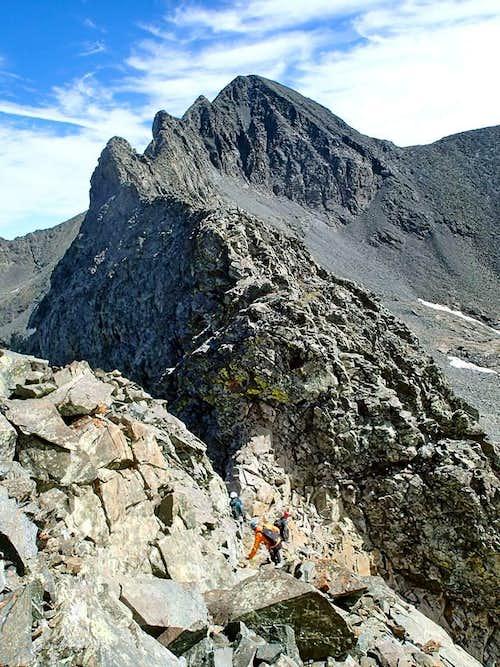 Little Bear to Blanca Peak Traverse