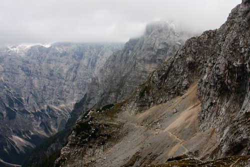Vrata valley route....