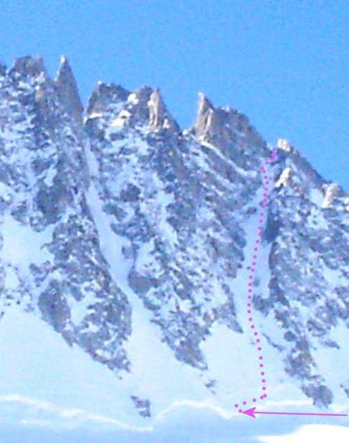 Chevalier Couloir March 11,...