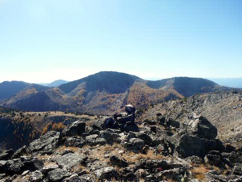 Looking at Tiffany Mountain