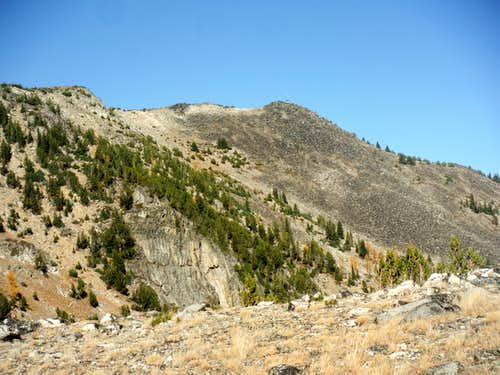 Looking at Rock Mountain