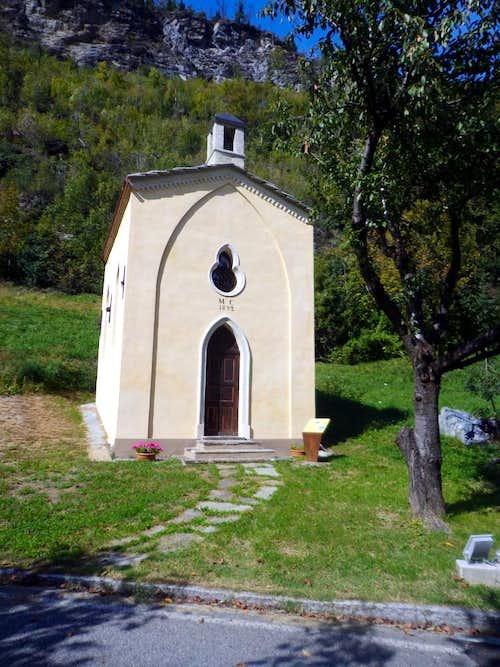 (Salassians Via) Just before Avise 1892 Chapel 2015