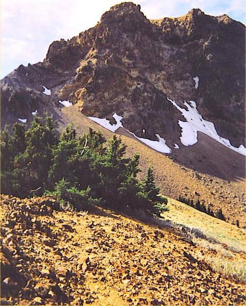 Brokeoff's south ridge....