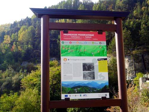 (Salassians Via) Charbonnière towards Verrogne 2015