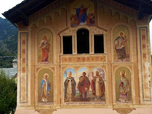 (Salassians Via) Saints & Saintes of Signayes 2015