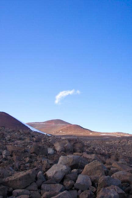 Mauna Kea's main summit from...