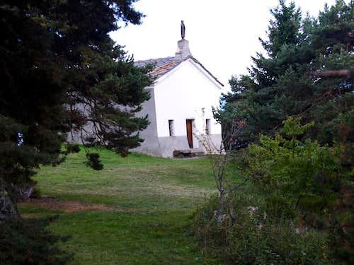 Tour de Saint'Evence Arriving nearby the Chapel 2015