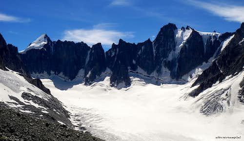 Head of Argentière glacier
